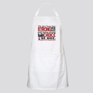 AIDS How Strong We Are Apron