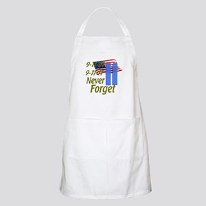 9-11 / Flag / Never Forget Apron