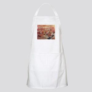 Van Gogh French Novels and Rose Apron