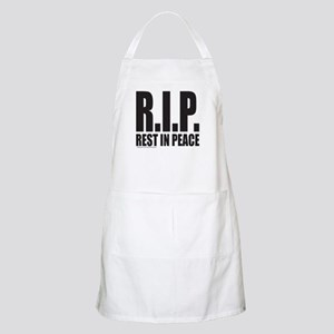 R.I.P. REST IN PEACE Apron