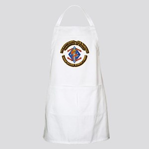 1st Bn - 4th Marines with Text Apron