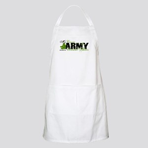 Cousin Combat Boots - ARMY Apron