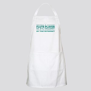 Good Flute Player BBQ Apron