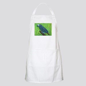 African Grey Parrot BBQ Apron