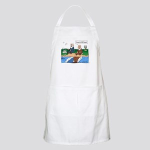 Fishing With Moses BBQ Apron