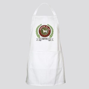 Setter Adopted BBQ Apron