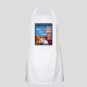 Lesbian Lust Gay Pulp Fiction Image Pin Up Apron