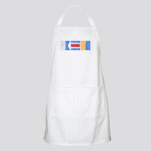 "Nantucket ""ACK"" Signal Flag Apron"