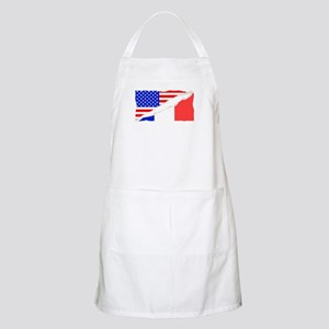French American Flag Apron
