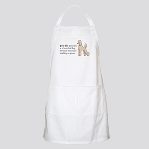 Nothing to prove Apron