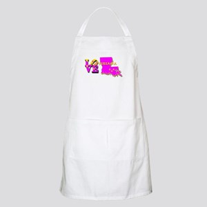 LOUISIANA LOVE PURPLE GOLD Apron