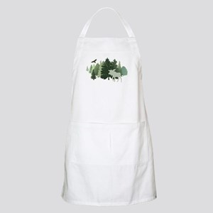 Moose in the Forest Apron