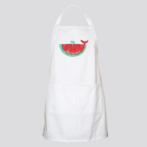 Cute Nantucket Watermelon Whale Apron