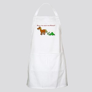 Have you seen this Horse? Apron