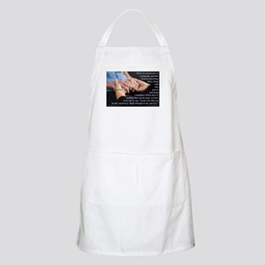 'I'm With You' Apron