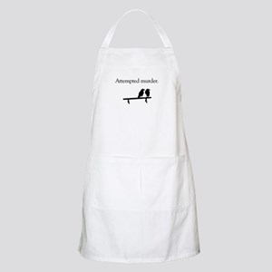 Attempted Murder Apron