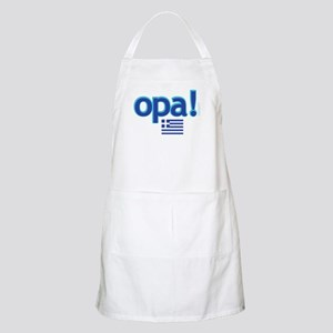greek flag opa1 Light Apron