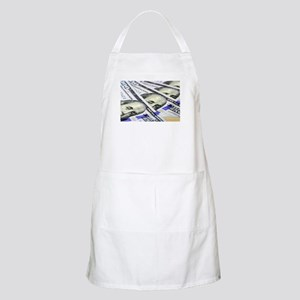 US Currency One Hundred Dollar Bill Light Apron