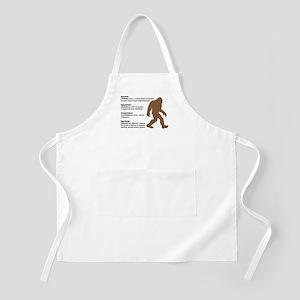 Definition of Bigfoot Apron