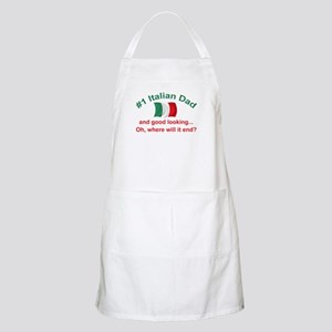 Good Looking Italian Dad BBQ Apron