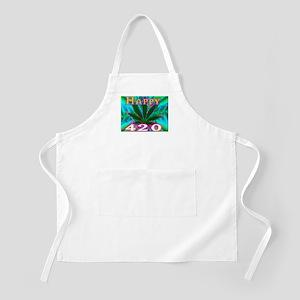 happy 420 Apron