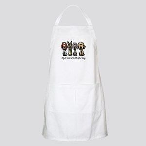 I Just Want to Pet All of the Dogs Apron