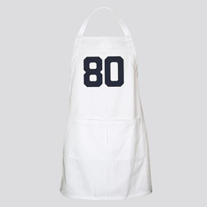 80 80th Birthday 80 Years Old Apron