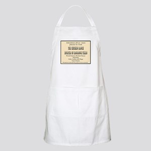 Chicken Ranch Brothel BBQ Apron
