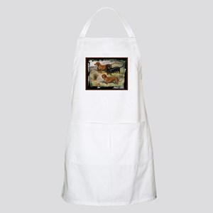 Antique Dachshund Doxie BBQ Apron