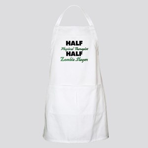 Half Physical Therapist Half Zombie Slayer Apron
