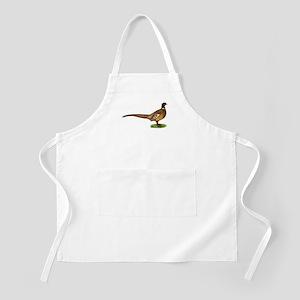 Proud Ringneck Pheasant Apron
