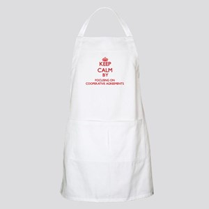 Keep Calm by focusing on Cooperative Agreeme Apron