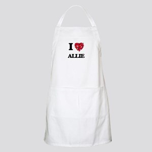 I Love Allie Apron