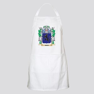 Abba Coat of Arms - Family Crest Apron