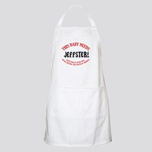 This baby needs Jeffster Apron