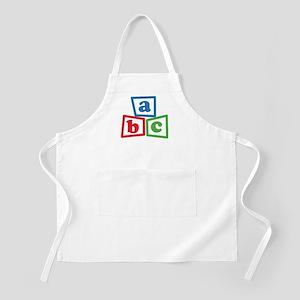 ABC Blocks Apron