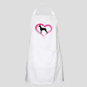 Heart My Doberman Apron