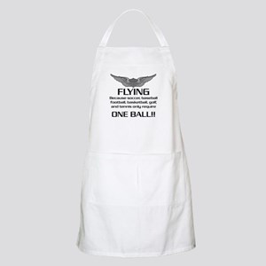 Flying... One Ball! - Army Style Apron