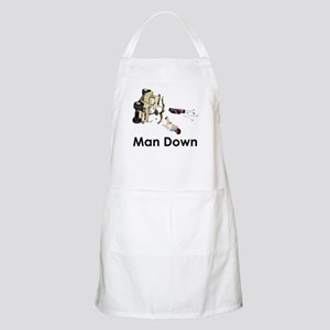 MAN DOWN BBQ Apron