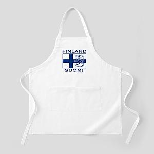 Finland Suomi Flag BBQ Apron