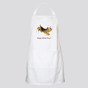 Welsh Terrier Holiday Dog! BBQ Apron