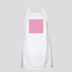 Pink Check Gingham Patterns Light Apron