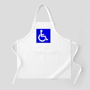 Handicap Sign Apron
