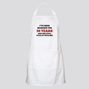 Ive Been Married For 50 Years Apron