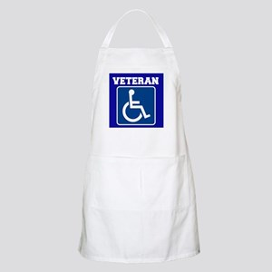 Disabled Handicapped Veteran Apron