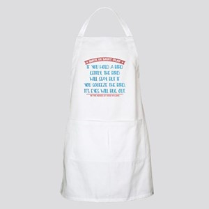Hold a Bird Gently Apron