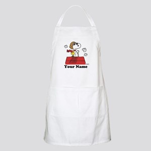 Peanuts Flying Ace Personalized Apron
