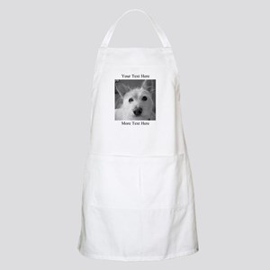 Your Text and Your Photo Here Light Apron