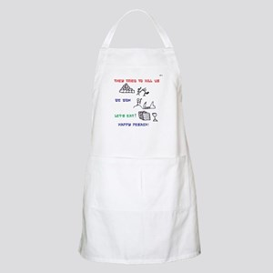 Passover Pesach Story BBQ Apron