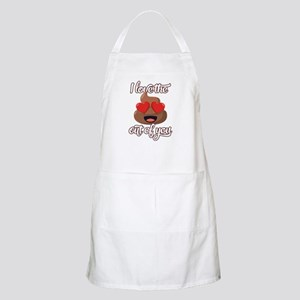 Emoji Love The Poop Out of You Light Apron
